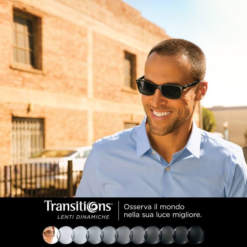 Lenti Dinamiche Transitions: Osserva il mondo nella sua luce migliore