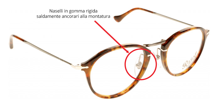 naselli occhiali o montature